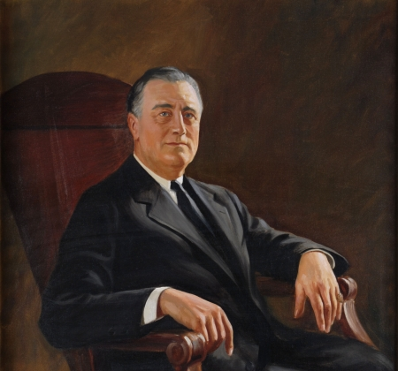 44th Governor Franklin D. Roosevelt