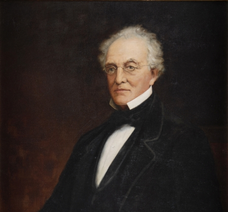 Painted portrait of John H. King.