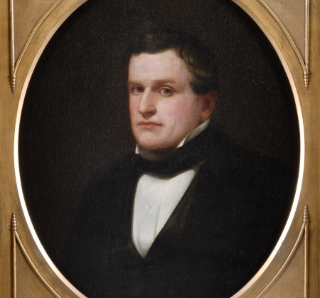 Painted portrait of John Young.