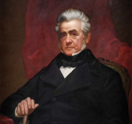 Painted portrait of William C. Bouck.
