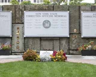 New York State Corrections Officers and Parole Officers Memorial