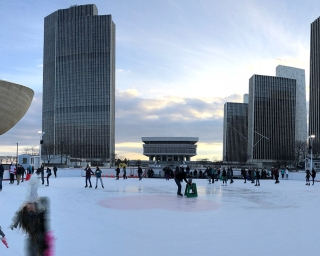 Ice Rink | Visit the Empire State Plaza & New York State Capitol