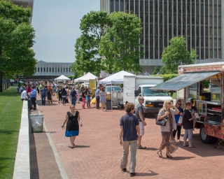 Empire State Plaza Food Trucks