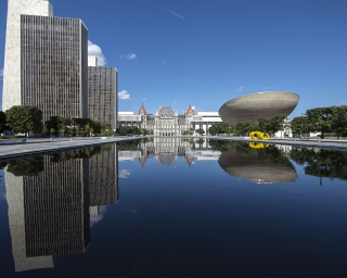 Empire State Plaza and New York State Capitol
