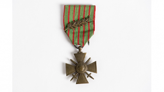 French Croix de Guerre with Palm c. 1914-1918