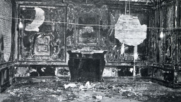 In 1961, an electrical fire broke out in the mansion destroying the drawing room.