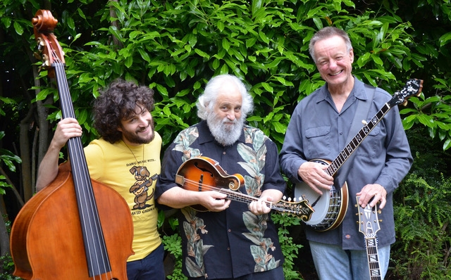 The Dawg Trio with David Grisman, Sam Grisman, and Danny Barnes
