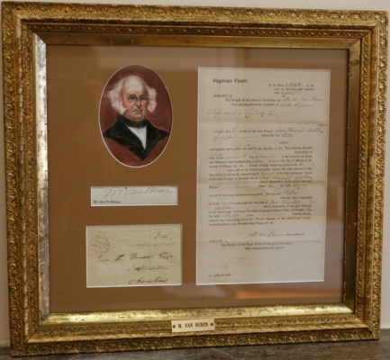 Legal Document Signed by Attorney General Martin Van Buren, 1818