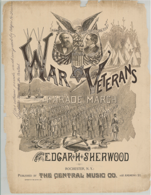 The War Veterans Parade March, 1889