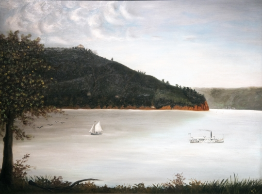 Bluff Point Painting