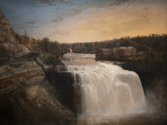 Upper Falls of the Genesee River Painting