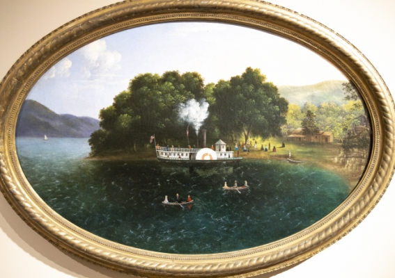The Steamboat Painting