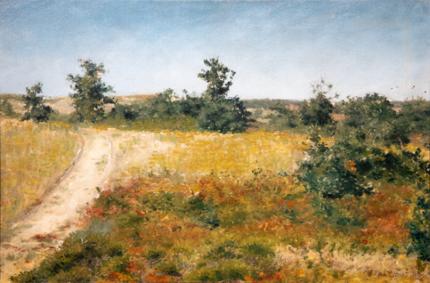 Road to the Beach, Shinnecock Hills Painting