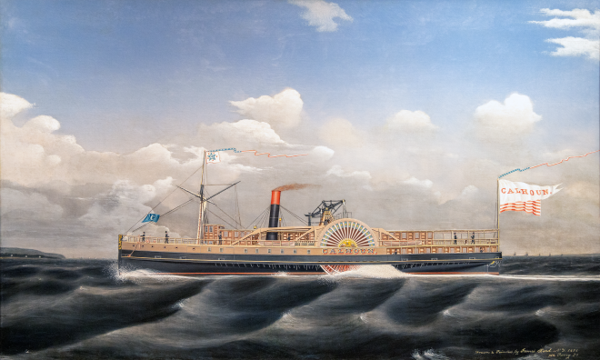 The Calhoun circa 1856 Painting
