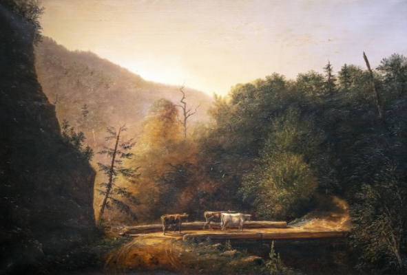 Moore's Bridge, Kaaterskill Clove Painting
