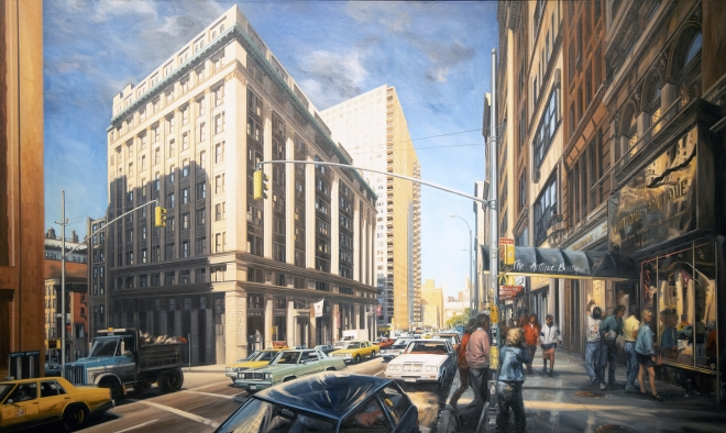 Broadway Downtown Painting