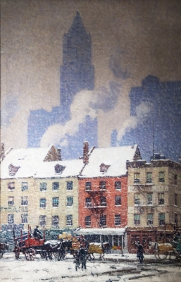 Manhattan Contrasts Painting