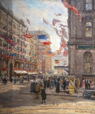 Avenue of the Allies Painting