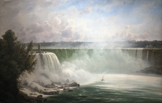 Niagara Falls Terrapin Point Painting